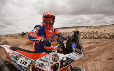 SA 'rookies' takes on Dakar 2017 on two wheels
