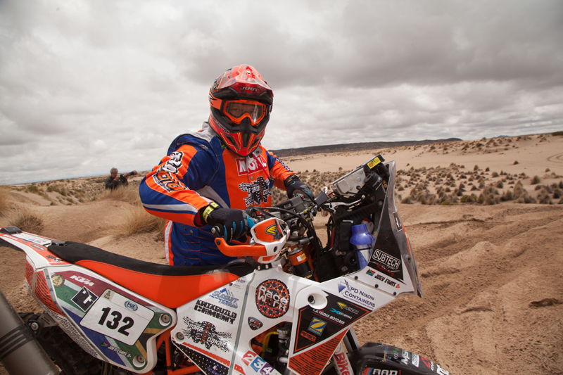 Joey Evans Dakar Finisher
