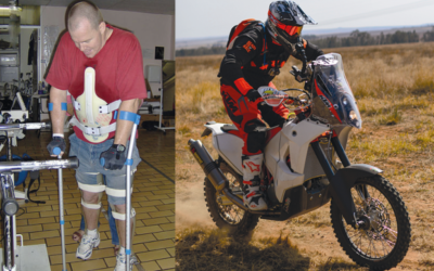From a paraplegic to racing Dakar… the incredible South African who is beating all the odds!